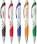 Karma White Clip Pens